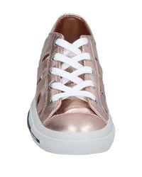 DIESEL Pink Low-tops & Sneakers