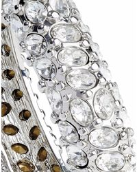 Kenneth Jay Lane Metallic Armband