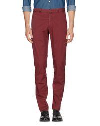 Pantalones Boglioli de hombre de color Red