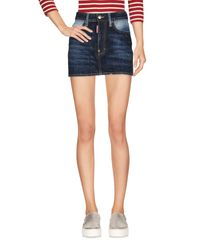 DSquared² Blue Denim Skirt