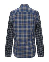 Macchia J Hemd in Blue für Herren