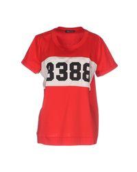 Twin Set Red T-shirt