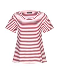 Weekend by Maxmara Red T-shirts