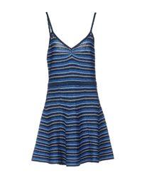 Manoush Blue Short Dress