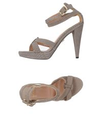 Gianfranco Ferré Gray Sandals