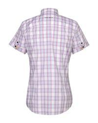 Camisa Frankie Morello de hombre de color Purple