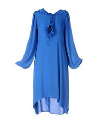 Balenciaga Blue Knee-length Dress