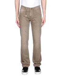 7 For All Mankind Gray Denim Trousers for men