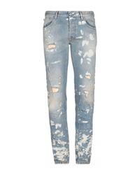 Pantalon en jean Just Cavalli pour homme en coloris Blue