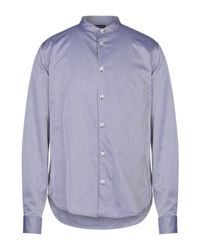 Camisa Armani Jeans de hombre de color Multicolor