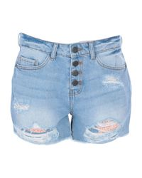 Shorts jeans di Noisy May in Blue