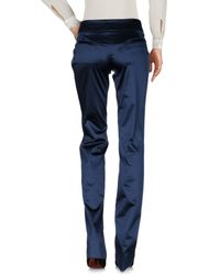 John Galliano | Blue Casual Trouser | Lyst