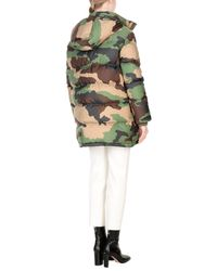 Moschino - Green Down Jacket - Lyst
