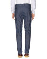 Pantalone di PT01 in Blue da Uomo