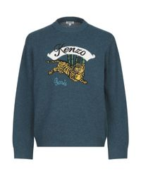 Pullover KENZO pour homme en coloris Blue