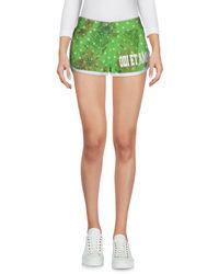 Odi Et Amo Green Shorts