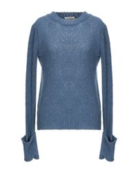 The Row Blue Pullover