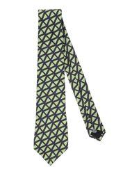 Mp Massimo Piombo Green Tie for men
