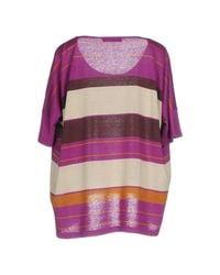 Weekend by Maxmara - Purple Sweater - Lyst