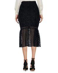 Pinko Black 3/4 Length Skirt