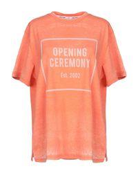 T-shirt di Opening Ceremony in Orange