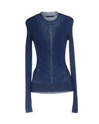Christopher Kane Blue Sweater