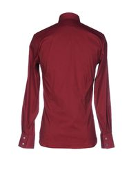Patrizia Pepe Red Shirt for men