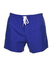 DSquared² Blue Swimming Trunks for men