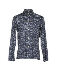 Oliver Spencer Blue Shirt for men