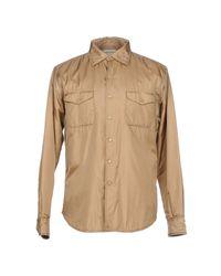 Camisa Aspesi de hombre de color Natural