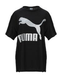 T-shirt PUMA en coloris Black