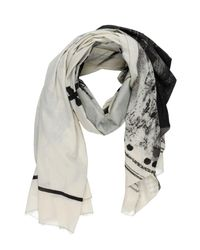Lost & Found - Natural Oblong Scarf for Men - Lyst