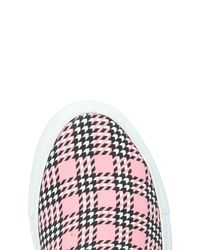 MSGM Pink Low-tops & Sneakers