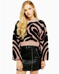 Pullover di TOPSHOP in Black
