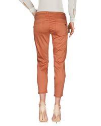 Liu Jo Orange Casual Trouser