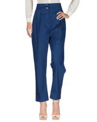 Pantalones A.m. de color Blue