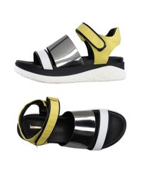 Jeannot Yellow Sandals