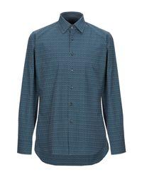 Prada Hemd in Blue für Herren
