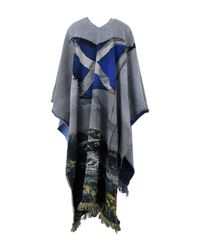 Golden Goose Deluxe Brand - Blue Capes & Ponchos - Lyst