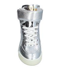 Alexander McQueen X Puma - Metallic High-tops & Sneakers for Men - Lyst