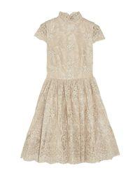 Alice + Olivia White Short Dress