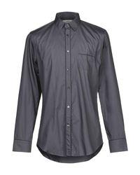 Camicia di Mauro Grifoni in Gray da Uomo