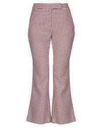 Pantalones Space Style Concept de color Red