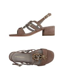 Apepazza Natural Sandals