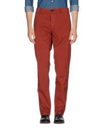 Pantalone di Paul Smith in Red da Uomo