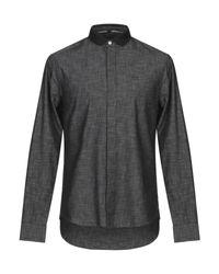 Chemise Armani Exchange pour homme en coloris Black