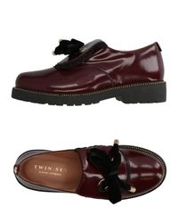 Twin Set Brown Loafer