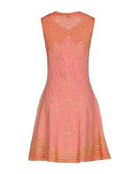 M Missoni Pink Short Dress