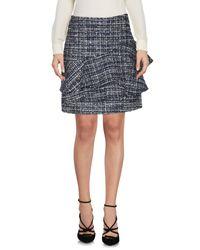 Liu Jo Blue Knee Length Skirt
