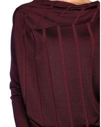 Vivienne Westwood Anglomania Purple Long Dress